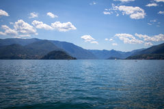 Varenna in Lake Como, Italy Stock Images