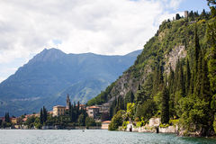 Varenna in Lake Como, Italy Royalty Free Stock Photos