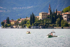Varenna in Lake Como, Italy Stock Photo