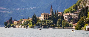 Varenna in Lake Como, Italy Stock Photography