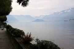 Varenna, Lake Como, Province of Lecco,  region Lombardy Royalty Free Stock Photo