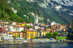 Varenna - pictorial village in Lago di Como - Itay Royalty Free Stock Photo