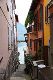 Varenna town italy Royalty Free Stock Images