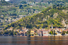 Varenna Village in Lake Como, Italy.  Royalty Free Stock Photo