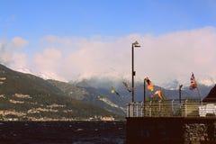 Varenna w Włochy Obrazy Royalty Free
