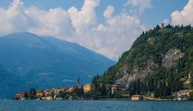 Varenna from the Water Stock Photo
