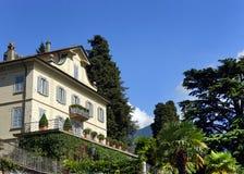 Varennastad op de kust van Como-Meer royalty-vrije stock foto