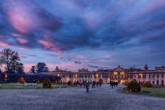 Varese, Christmas lights Stock Photo