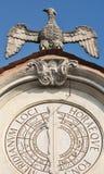 Varese Italien: Palazzo Estense som är värd stadshuset Fotografering för Bildbyråer
