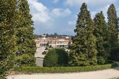 Varese Italy:  Giardino degli Estensi, historic park Royalty Free Stock Images