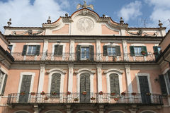 Varese Italy:  Palazzo Estense, hosting the town hall Royalty Free Stock Photos