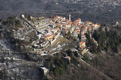 Varese, Sacro Monte, Lombardia, Italië Stock Foto