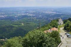 Varese Włochy, Czerwiec, - 04, 2017: Święta góra Varese Varese lub Sacro Monte di jest jeden dziewięć sacri monti w regionach Lo Obrazy Royalty Free
