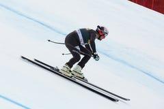 VARETTONI Silvano (ITA). VAL GARDENA, ITALY - DECEMBER 21:  VARETTONI Silvano (ITA) races down the Saslong competing in the Audi FIS Alpine Skiing World Cup MEN' Stock Photography