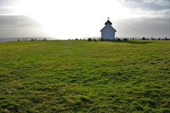 Varhaug老公墓 库存图片