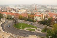 Varhegy в Будапеште Стоковая Фотография