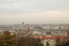 The Varhegy in Budapest Stock Images