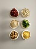 Variété d'ingrédients Photo stock