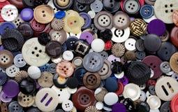 Variété de fond de boutons photo libre de droits