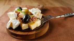 Variété de fromage Photos stock