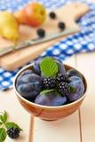 Variété de fruits. Photos libres de droits
