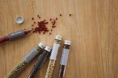 Variété de grain de poivre Photo libre de droits