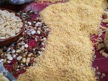 Variété de pâtes d'oeufs Image libre de droits