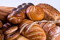 Variété de pain Photographie stock libre de droits