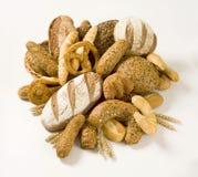 Variété de pain image libre de droits