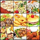 Variété de paraboloïdes de viande Photographie stock libre de droits