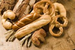 Variété de produits cuits au four photos stock