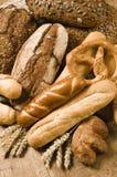 Variété de produits cuits au four image libre de droits