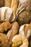 Variété de produits cuits au four photo libre de droits