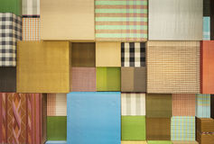 Variété de tissu de Scott Photo stock