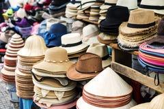 Variété des hommes et de chapeaux de femmes Images libres de droits