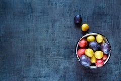 Variétés de pommes de terre fraîches Photo libre de droits