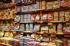 Variétés de sucrerie Images stock