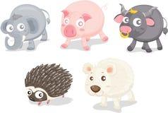Vari animali illustrazione vettoriale