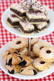 Vari biscotti austriaci di natale Fotografia Stock