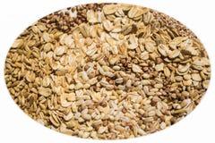 Vari chicchi e cereali Fotografie Stock