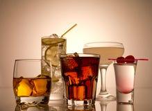 Cocktail Fotografie Stock Libere da Diritti