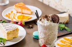 Vari dessert Fotografia Stock Libera da Diritti