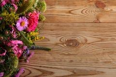 Vari generi di fiori in molti colori Fotografia Stock Libera da Diritti