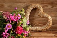 Vari generi di fiori in molti colori Fotografie Stock