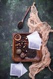 Vari generi di tè Fotografia Stock Libera da Diritti