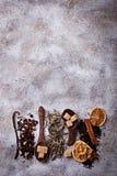 Vari generi di tè asciutto Fotografia Stock Libera da Diritti