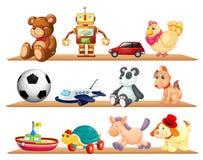 Vari giocattoli Fotografie Stock Libere da Diritti