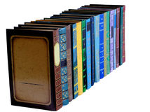 Vari libri Fotografia Stock Libera da Diritti