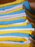 Vari panni colorati del microfiber Immagine Stock Libera da Diritti