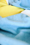Vari panni colorati del microfiber Fotografia Stock Libera da Diritti